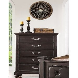 Mulberry 5 Drawer Chest by..