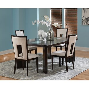 Hillcrest 5 Piece Solid Wood Dining Set