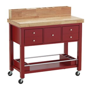 Iron Horse Kitchen Island