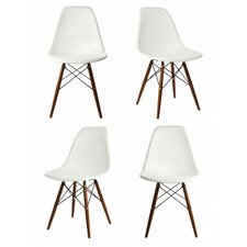 Modern Wooden Dining Chairs modern dining chairs | allmodern