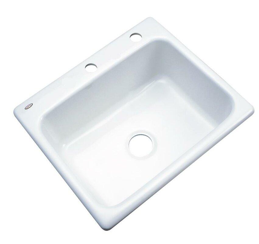 madison 25   x 22   kitchen sink solidcast madison 25   x 22   kitchen sink  u0026 reviews   wayfair  rh   wayfair com