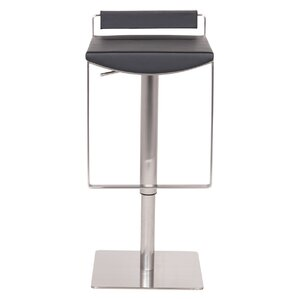 Bristol Hydraulic Adjustable Height Bar Stool by Joseph Allen