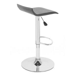 Sigma Adjustable Height Swivel Bar Stool (Set of..