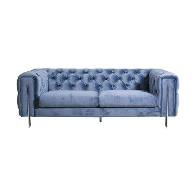 Modern Amp Contemporary Sofa With Chrome Legs Allmodern