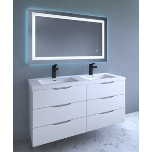 32 x 48 mirror mosaic 32x48 fosse bathroomvanity mirror 32 48 wayfair