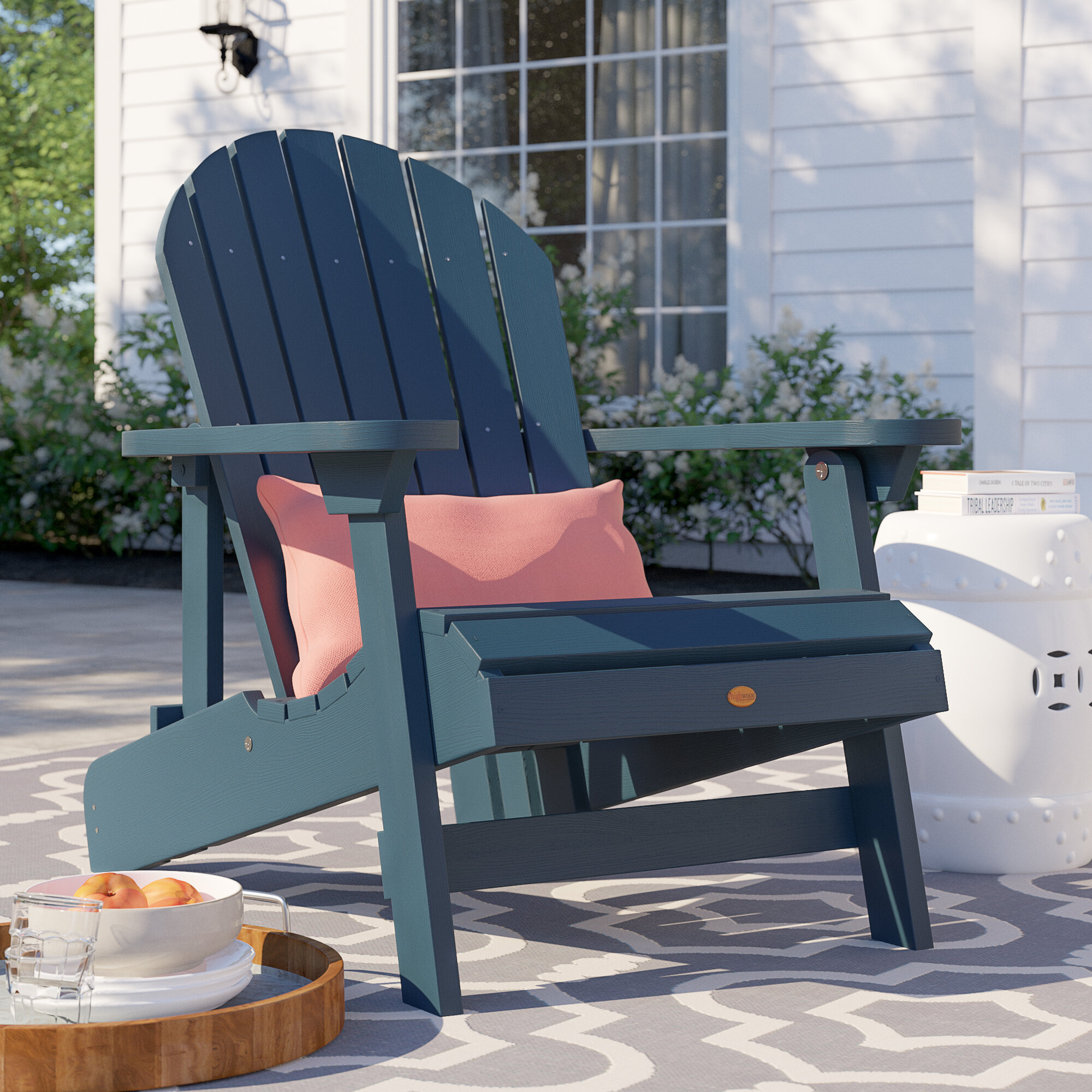 Patio Furniture Portsmouth Nh.Anette Plastic Folding Adirondack Chair