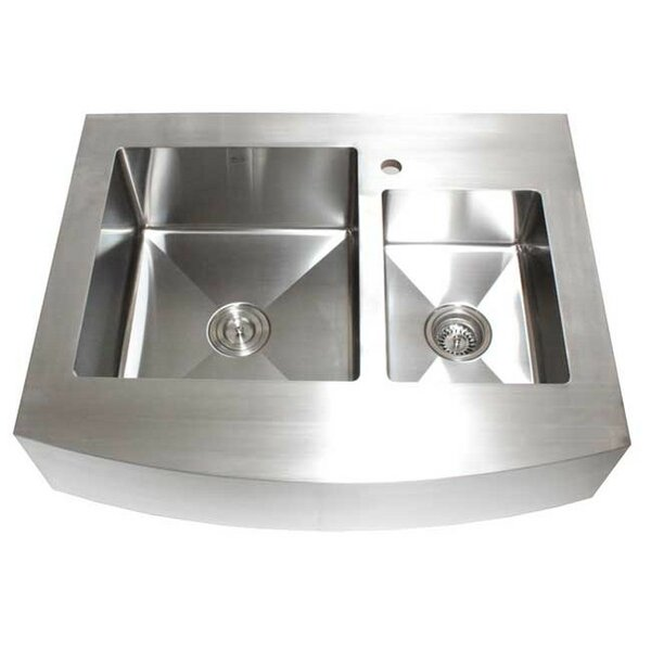 36 kitchen sink double emodern decor ariel 36