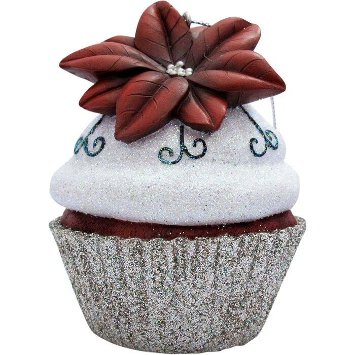 Cupcake Christmas Tree Ornaments
