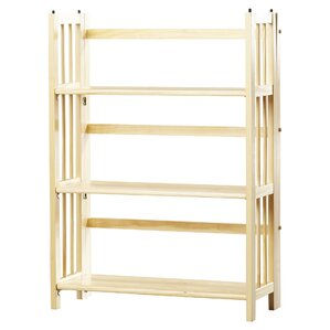 lubec folding bookcase