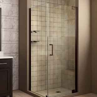 Elegance 32 X 72 Pivot Frameless Shower Door With Clear Max Technology