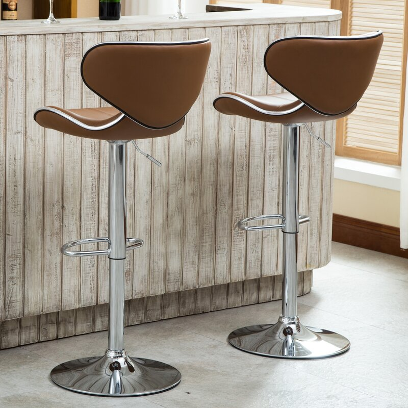 Harlow Adjustable Height Swivel Bar Stools Amp Reviews