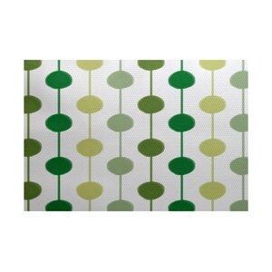 Leal Green/Yellow Indoor/Outdoor Area Rug
