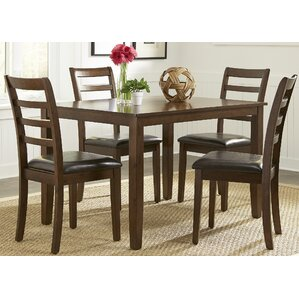 Greenview 5 Piece Dining Set by Alcott Hill