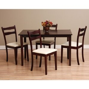 Callan 5 Piece Dining Set by Warehouse of Tiffany