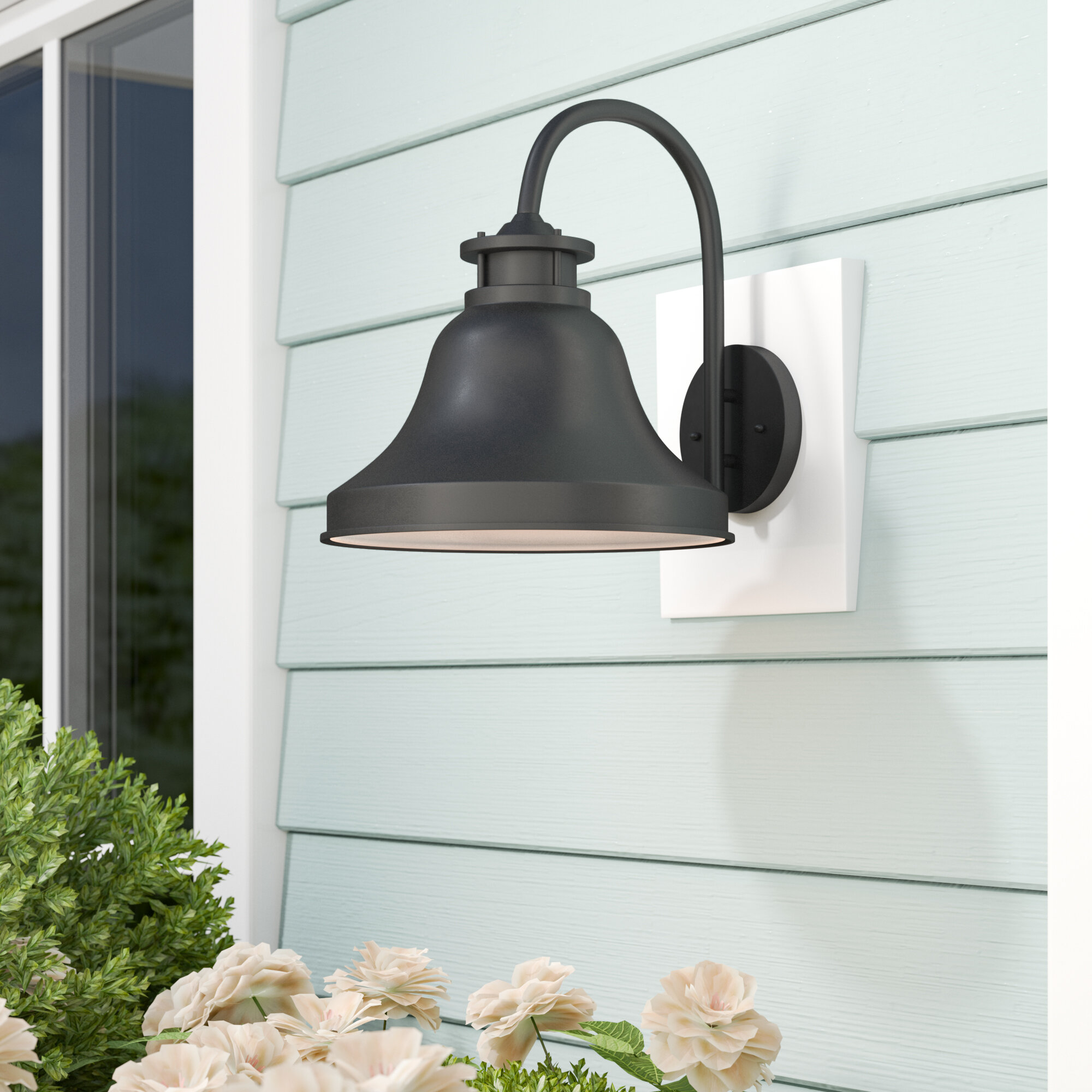outdoor barns fixture light led gooseneck barn products bronze