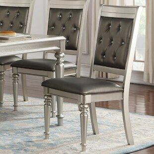 Donatella Tufted Upholstered Dining Chair (Set of 2)