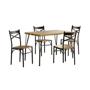 Owasco 5 Piece Dining Set Reviews