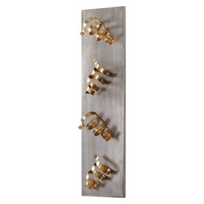 Brisa 4 Bottle Wall Mounted Wine Rack by Willa Arlo Interiors