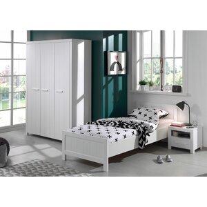 3-tlg. Schlafzimmer-Set Erik, 90 x 200 cm von Vi..