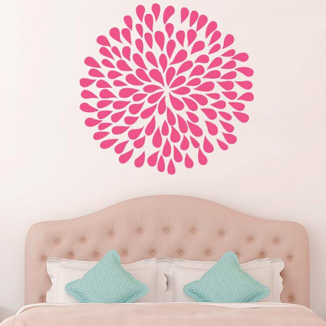 Cut it out wall stickers flowers petals wall sticker for Dayroom yellow bedroom