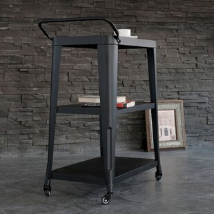 Pham 3-Tiered Metal Frame Bar Cart