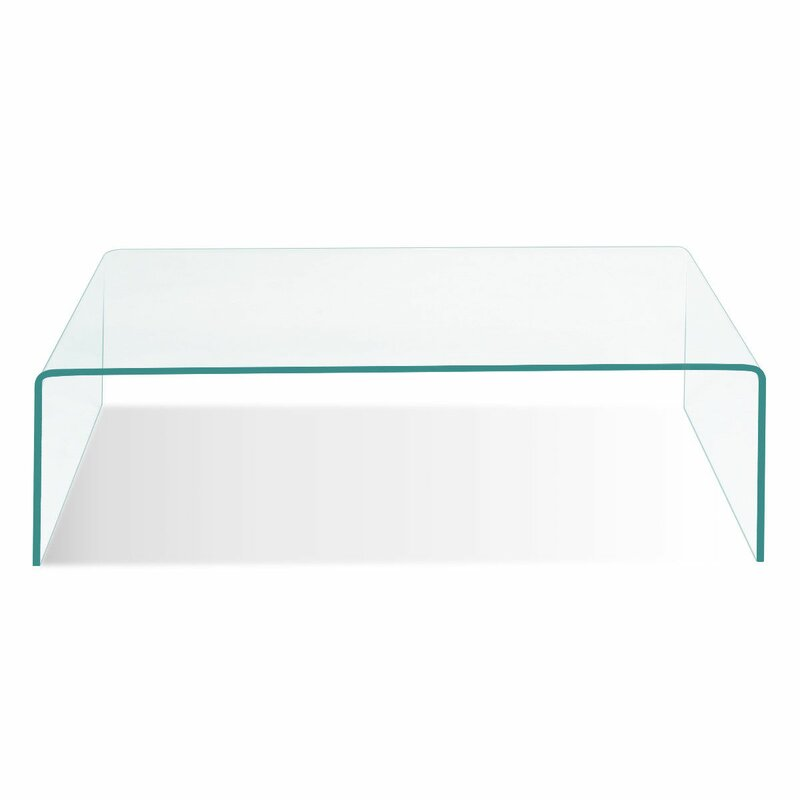 Worsham Tempered Glass Coffee Table