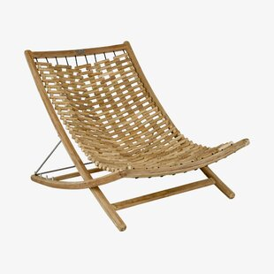 Xl Chaise Longue En Teck Inclinable Karly