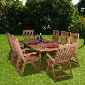 Wood Patio Dining Sets Youu0027ll Love | Wayfair