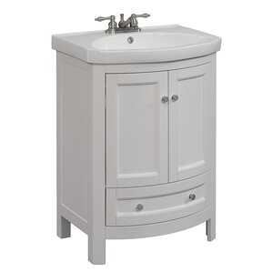 single white vanity with sink. Bellina 24  Single Vanity Set Bathroom Vanities Joss Main