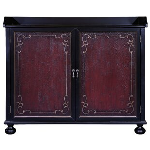 Vega Two Tone Hand Painted Bar Cabinet