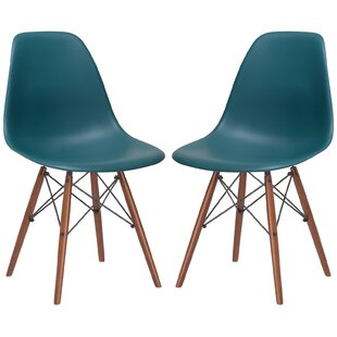 Quintus Dining Chair (Set of 2)  sc 1 st  Wayfair & Aqua Blue Dining Chair | Wayfair