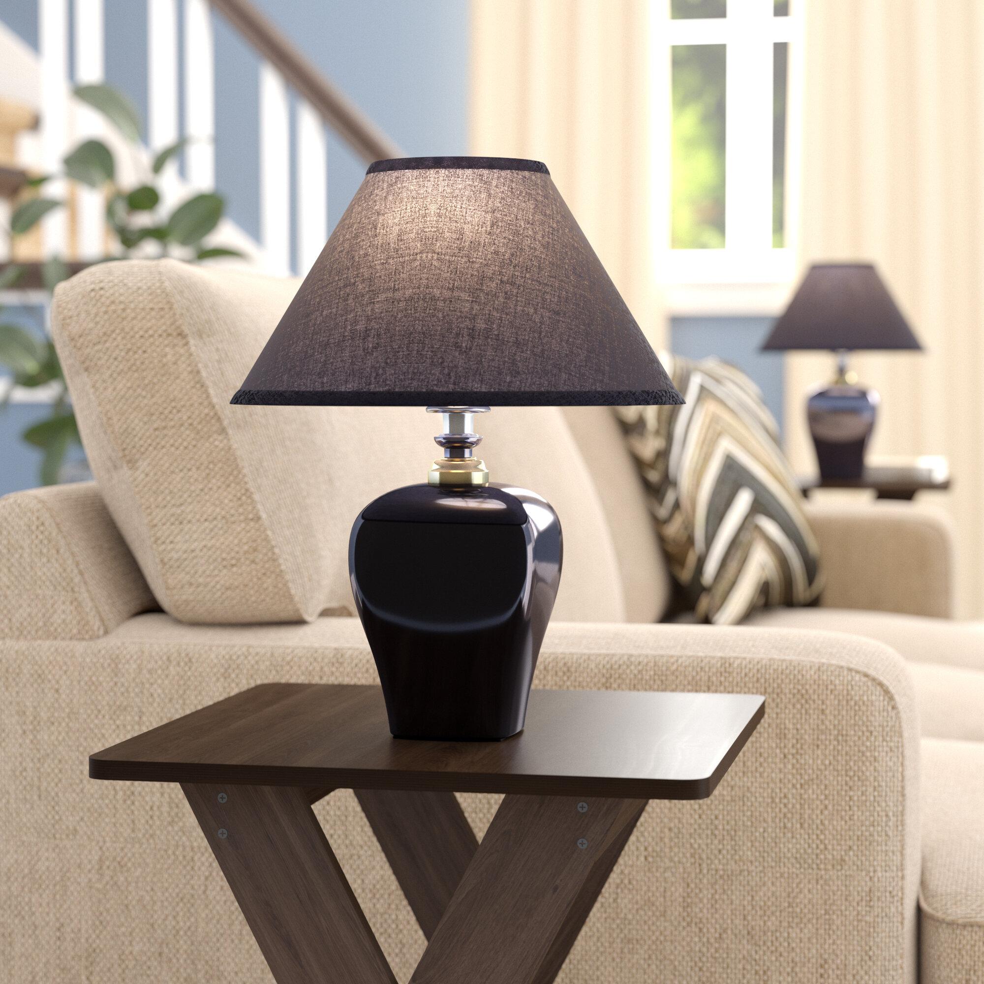 Winston Porter Cherrywood 15 Table Lamp Reviews Wayfair