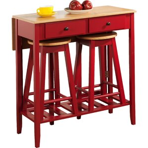 3 Piece Pub Table Set by InRoom Designs
