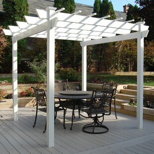 Kingston 8.8 Ft. W X 8.8 Ft. D Vinyl Pergola
