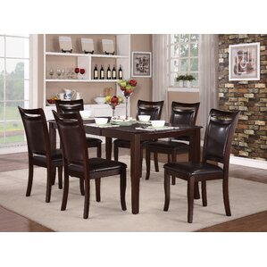 Beeston 7 Piece Dining Set by Red Barrel ..