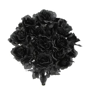 Black artificial flowers youll love wayfair quickview mightylinksfo