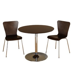 Salazar 3 Piece Dining Set by Latitude Run