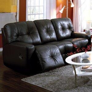 Mystique Leather Reclining Sofa by Palliser ..