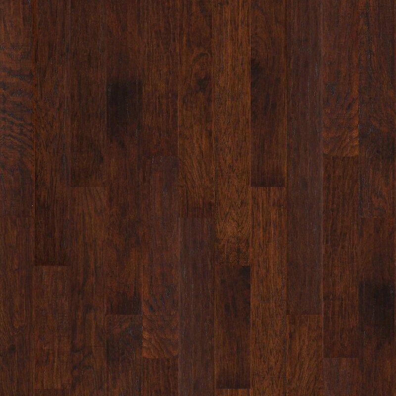 Shaw Floors Portland 5 Engineered Hickory Hardwood Flooring In