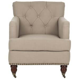 Zachariah Tufted Armchair by Darby Home Co