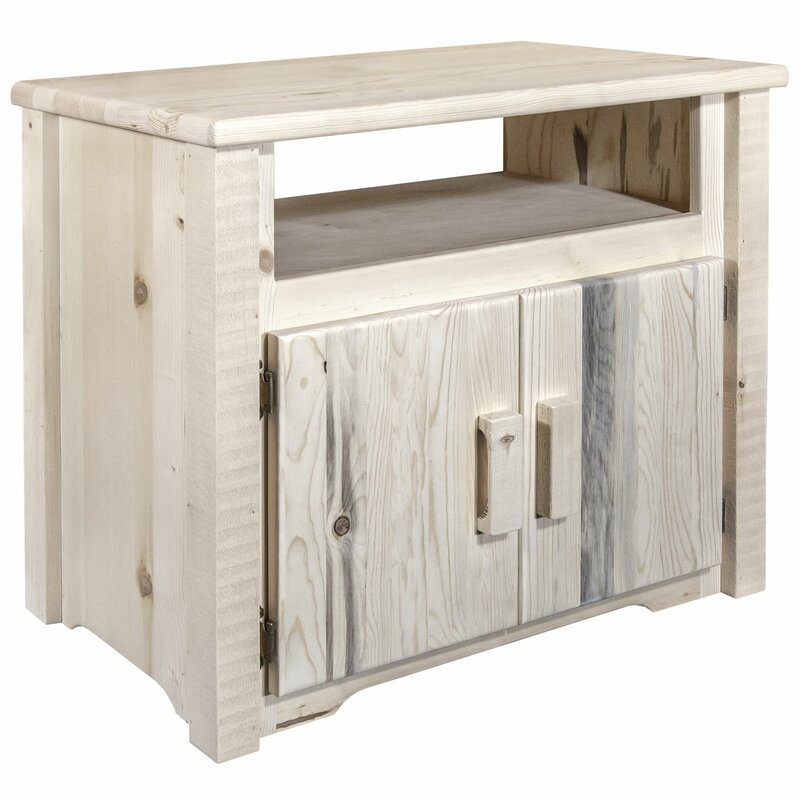 Abella Utility Cabinet Kitchen Island Stained and Lacquered
