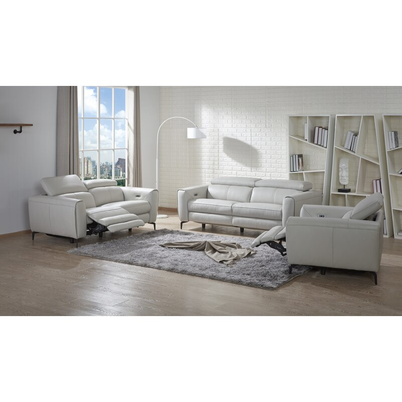 Orren Ellis Nakale Reclining Configurable Living Room Set