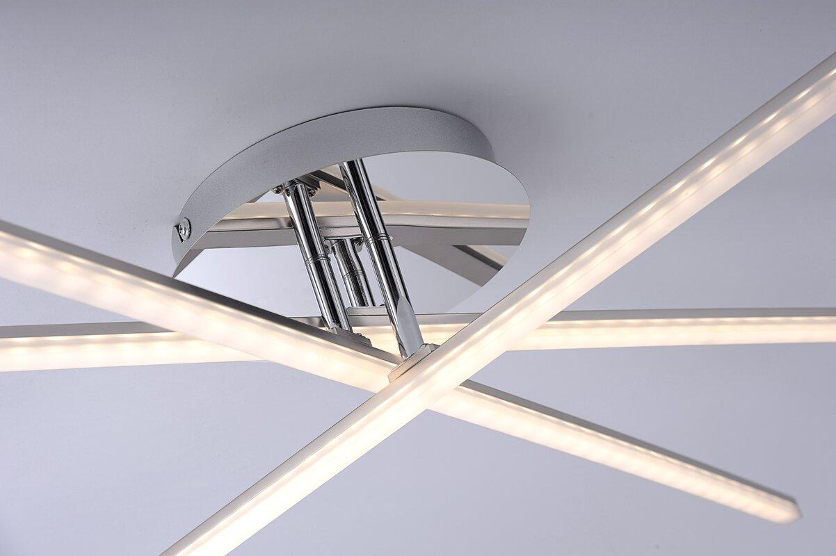 leuchten direkt led deckenleuchte 3 flammig simon bewertungen. Black Bedroom Furniture Sets. Home Design Ideas