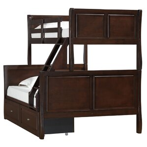 Downton Twin over Full Bunk Bed by Harriet Bee