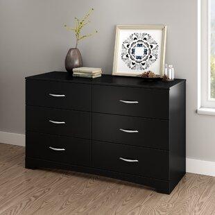 Merveilleux Step One 6 Drawer Double Dresser