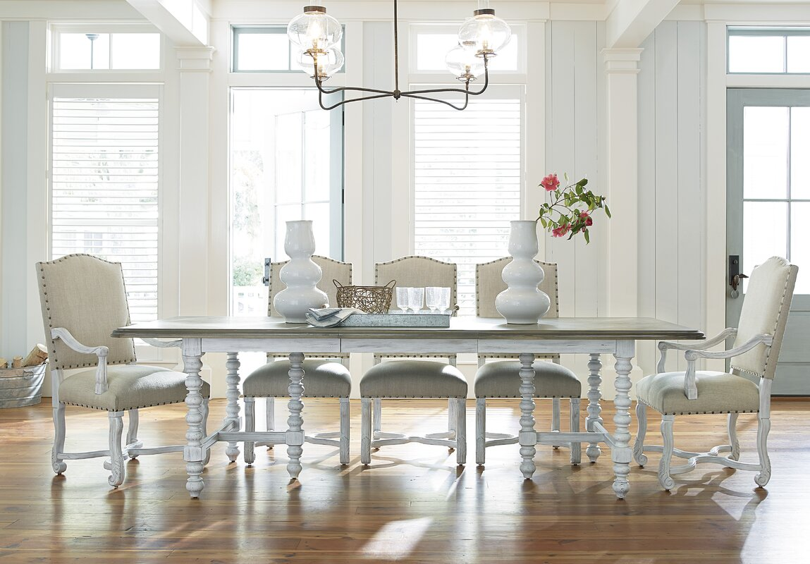 Extendable Dining Room Table Paula Deen Home Dogwood Extendable Dining Table & Reviews  Wayfair
