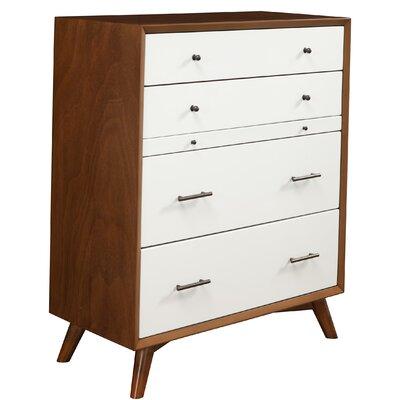 Modern Red Wood Dressers Chests Allmodern