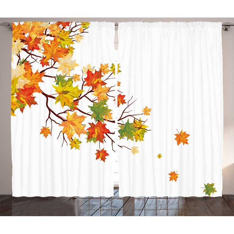 Red Barrel Studio Woodmere Fall Decorations Fall Image With Canadian