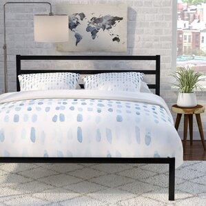 avey platform bed - Metal Twin Bed Frame