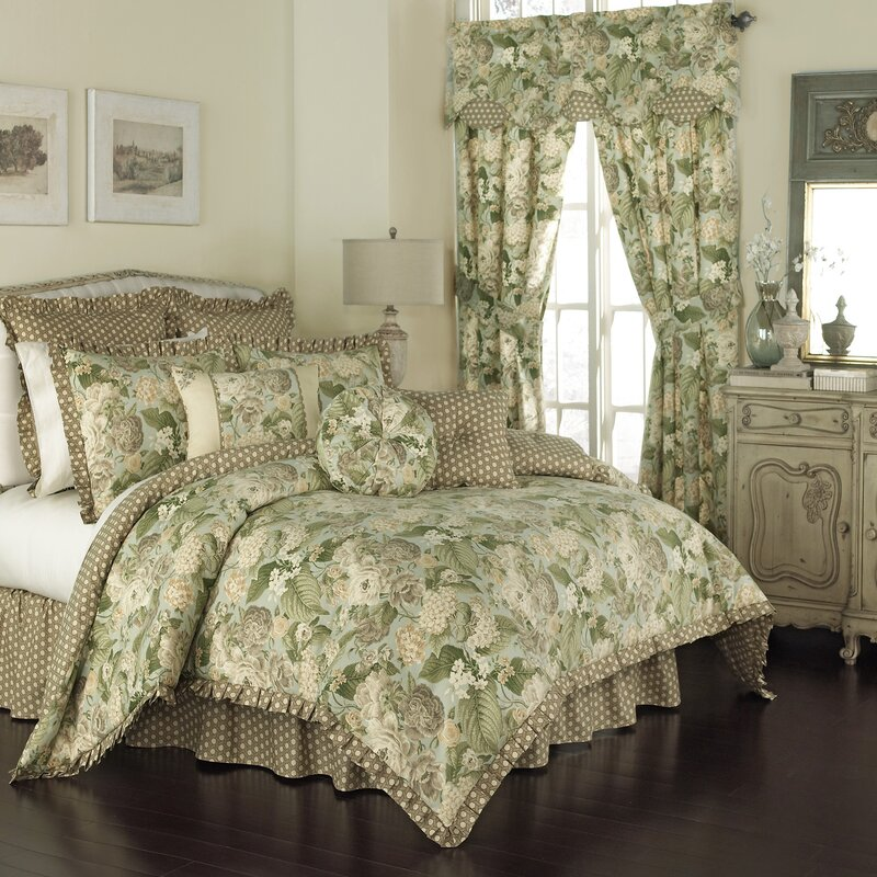 Garden Glory Comforter Collection. By Waverly